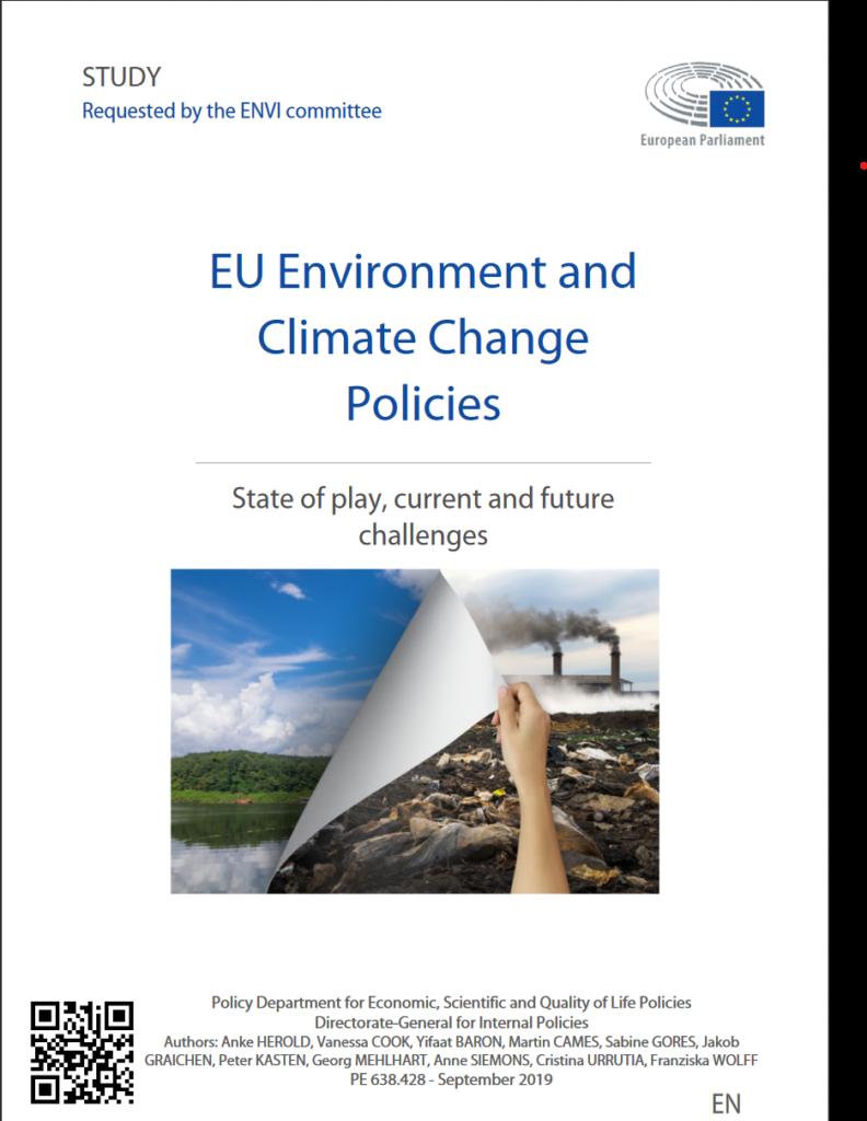 Study for the European Parliament, ENVI